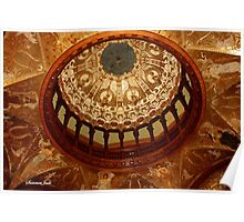Flagler College Dome ~ Gilded Ceiling Poster