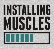 Loading Muscles - Nerd, Gamer, Geek Workout Shirt by Six 3