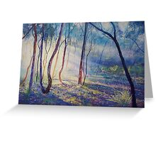 Ironbark Country Morning Greeting Card