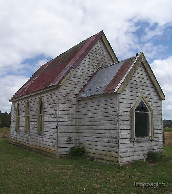 The Little Maori Church by littleeagle5
