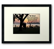 My Vow to Him........... Framed Print