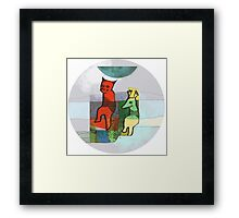 Hostages Framed Print