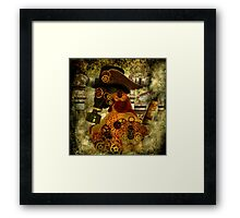 Clockwork suffocates under misinformation Framed Print