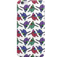 Unit 01 Multicolor Repeating Pattern iPhone Case/Skin