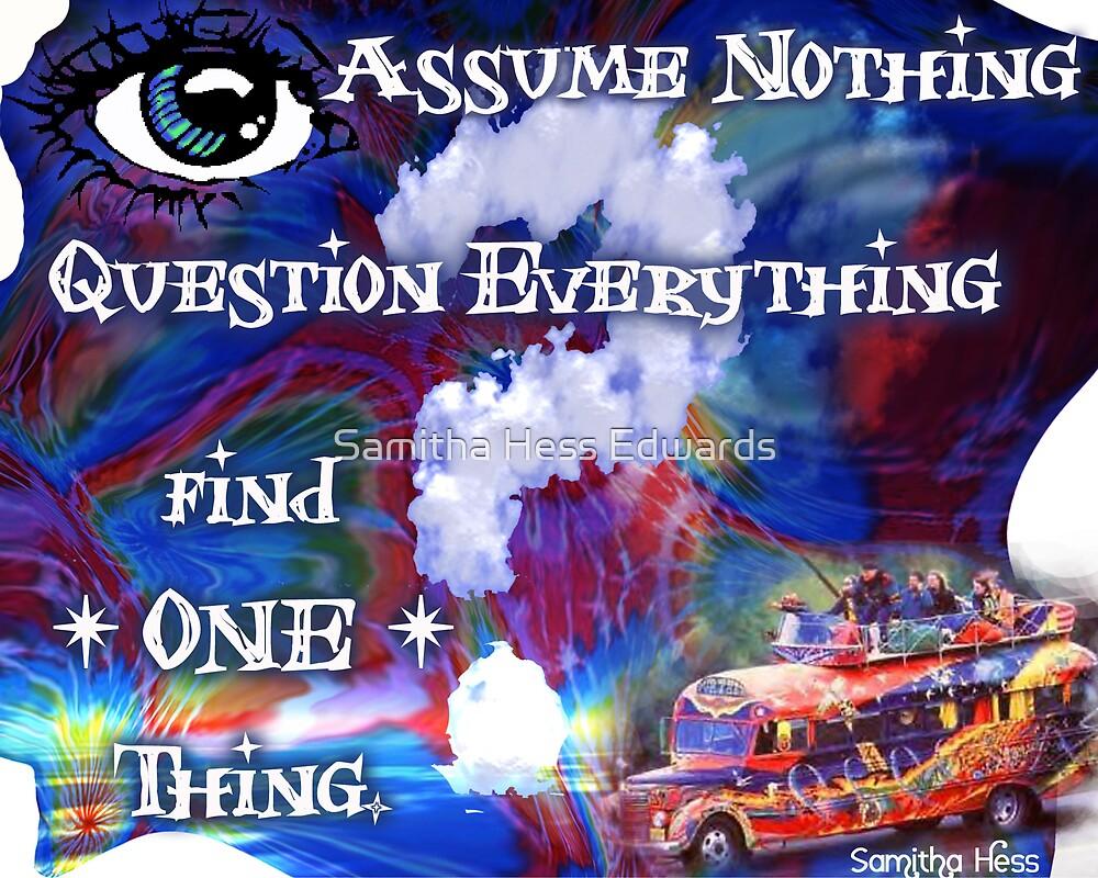 Assume Nothing by Samitha Hess Edwards
