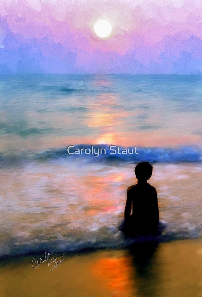 Sunset Prayer by Carolyn Staut