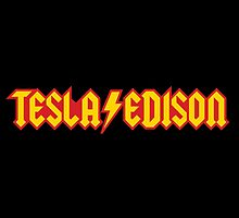 Tesla/Edison vs. AC/DC (Monsters of Grok) by amorphia
