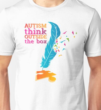 Autism Awareness Autism tshirt Unisex T-Shirt