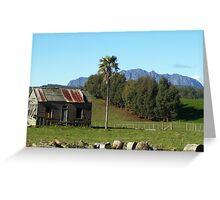 Mt Roland, Tasmania Greeting Card