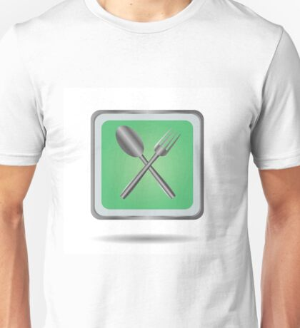 fork and spoon Unisex T-Shirt