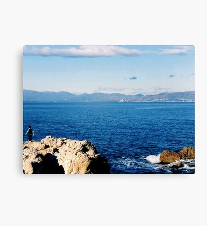 Le Scale Canvas Print