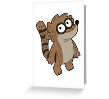 Regular Show - Rigby Greeting Card