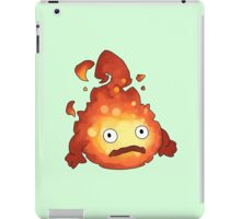 Studio Ghibli - Howl's Moving Castle - Calcifer iPad Case/Skin