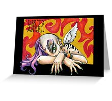 Dirty Angel Greeting Card