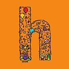 IMOK Letter H by Imok