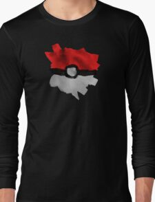 Painting Pokeballs Long Sleeve T-Shirt