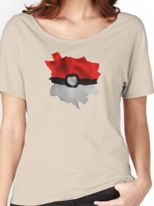 Painting Pokeballs Women's Relaxed Fit T-Shirt