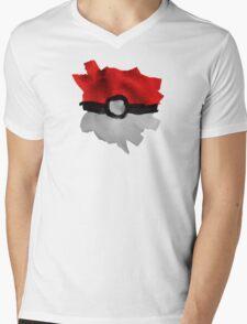 Painting Pokeballs Mens V-Neck T-Shirt
