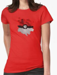 Painting Pokeballs Womens Fitted T-Shirt