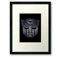 Transformers Autobots Framed Print