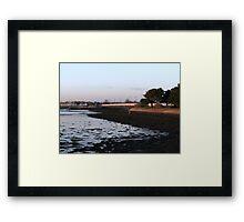 Sunset - 1  23-11-07 Framed Print