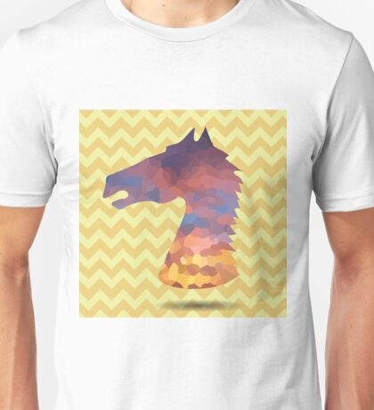 abstract head horse Unisex T-Shirt