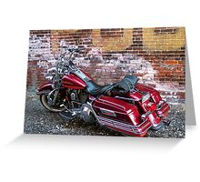 The Queens King 1995 RoadKing Greeting Card