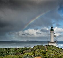 Point Lonsdale Rainbow by James Collier