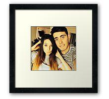 Alfie and Zoe Framed Print