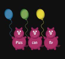 Three pigs fly by Heather Scott