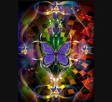 Multidimensional  Transformation - Sacred Geometry  Womens Fitted T-Shirt