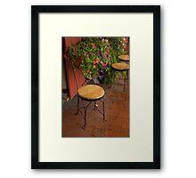 Seated Valentine Framed Print