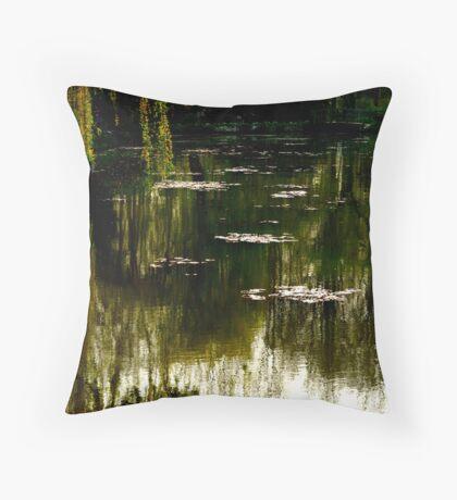 remembering Monet Throw Pillow