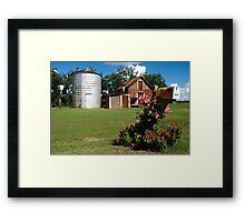 Flower Mail Framed Print