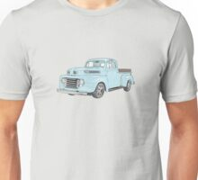 1950 Ford F1 Pickup Unisex T-Shirt
