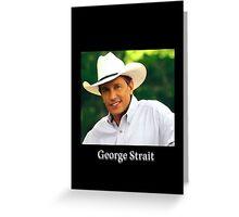 George Strait Greeting Card