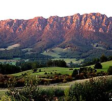 photoj Tas, Mt Roland, Sunrise by photoj