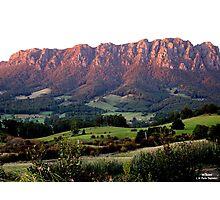 photoj Tas, Mt Roland, Sunrise Photographic Print