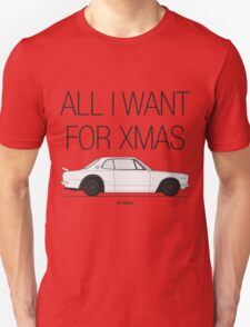 All I Want For XMas Is A Hako Unisex T-Shirt