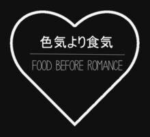 Food Before Romance white by kryana
