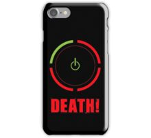 Ring of Death iPhone Case/Skin