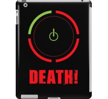 Ring of Death iPad Case/Skin