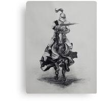Sir Knight Metal Print