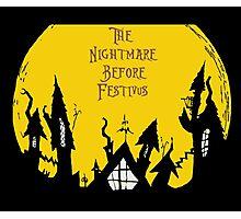 The Nightmare Before Festivus Photographic Print