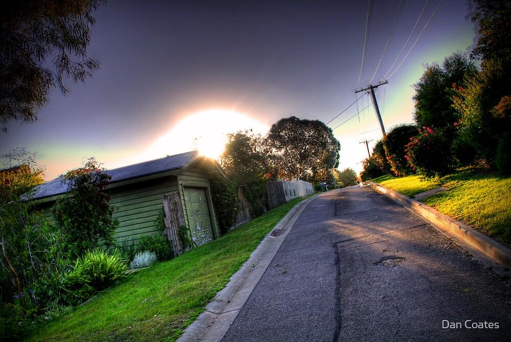 Sunset in Suburbia by Dan Coates