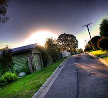 Sunset in Suburbia by Dan Coates