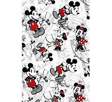 Vintage Minnie & Mickey Photographic Print