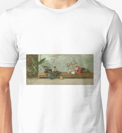 Fortuny Y Marsal, Mariano - The Painters Children In The Japanese Room Unisex T-Shirt