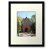 ST PETERS PARISH Framed Print