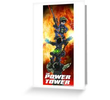 The Power Tower Greeting Card